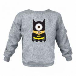 Дитячий реглан (світшот) Minion Batman