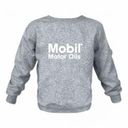 Детский реглан (свитшот) Mobil Motor Oils