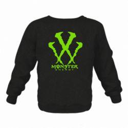 Дитячий реглан (світшот) Monster Energy W