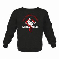 Детский реглан (свитшот) Muay Thai Full Contact