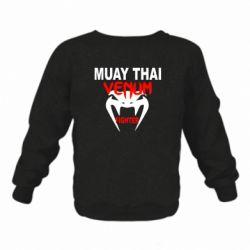 Детский реглан (свитшот) Muay Thai Venum Fighter