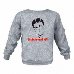Детский реглан (свитшот) Muhammad Ali