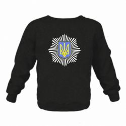 Дитячий реглан (світшот) МВС України