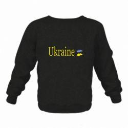 Дитячий реглан (світшот) My Ukraine
