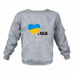 Дитячий реглан (світшот) Народився в Україні
