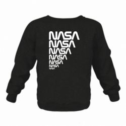 Детский реглан (свитшот) NASA