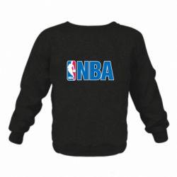 Детский реглан (свитшот) NBA Logo