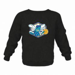 Детский реглан New Orleans Hornets Logo - FatLine