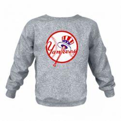 Дитячий реглан (світшот) New York Yankees