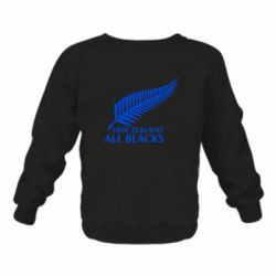 Детский реглан new zealand all blacks - FatLine