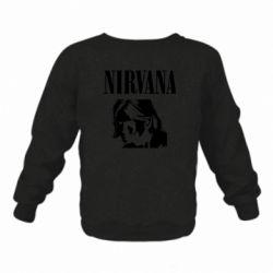 Дитячий реглан (світшот) Nirvana