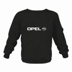 Детский реглан (свитшот) Opel Logo