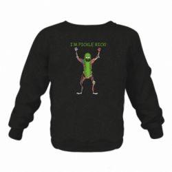 Дитячий реглан (світшот) Pickle Rick