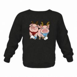 Дитячий реглан (світшот) Pigs