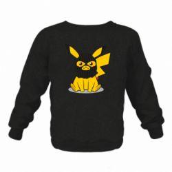 Дитячий реглан (світшот) Pikachu in balaclava