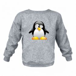 Дитячий реглан (світшот) Пінгвін