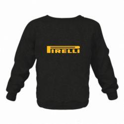 Детский реглан (свитшот) Pirelli