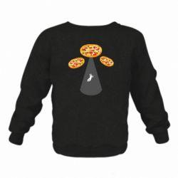 Дитячий реглан (світшот) Pizza UFO