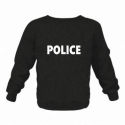 Детский реглан (свитшот) POLICE