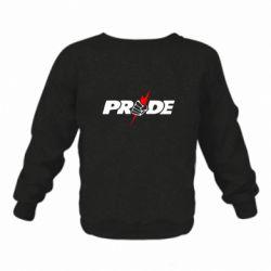 Детский реглан (свитшот) Pride