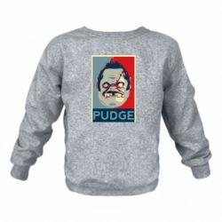 Детский реглан (свитшот) Pudge aka Obey