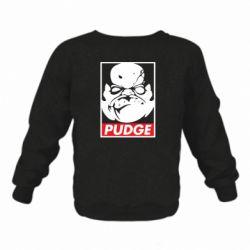Детский реглан (свитшот) Pudge Obey