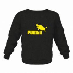 Дитячий реглан (світшот) Pumba
