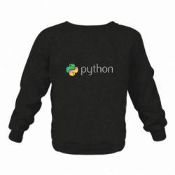 Дитячий реглан (світшот) Python