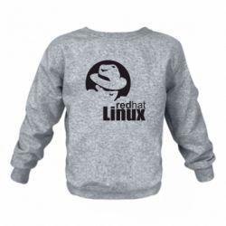 Дитячий реглан (світшот) Redhat Linux