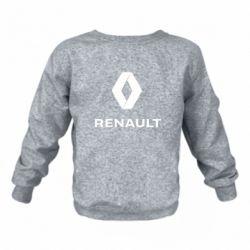 Дитячий реглан (світшот) Renault logotip