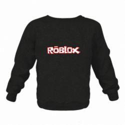 Детский реглан (свитшот) Roblox logo