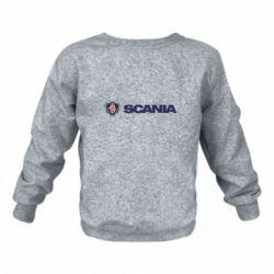 Дитячий реглан (світшот) Scania Logo