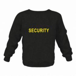 Детский реглан (свитшот) Security