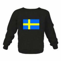 Дитячий реглан (світшот) Швеція