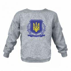 Детский реглан Слава Україні! (вінок) - FatLine