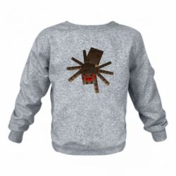 Дитячий реглан (світшот) Spider from Minecraft
