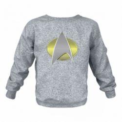 Дитячий реглан Star Trek Gold Logo - FatLine