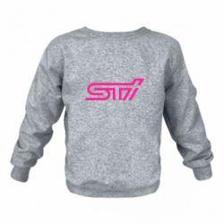 Детский реглан (свитшот) STI Logo