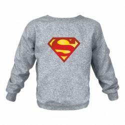 Детский реглан (свитшот) Superman Classic
