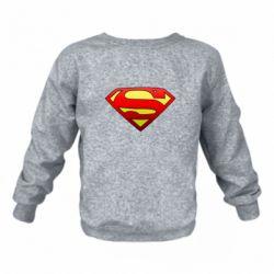 Детский реглан (свитшот) Superman Logo