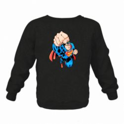 Дитячий реглан (світшот) Супермен Комікс