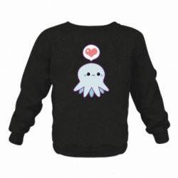 Детский реглан (свитшот) Sweet Octopus