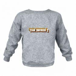 Детский реглан (свитшот) Team Fortress 2 logo