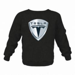 Детский реглан (свитшот) Tesla Corp