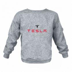 Детский реглан (свитшот) Tesla