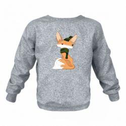 Дитячий реглан (світшот) The Fox in the Hat