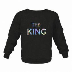 Детский реглан (свитшот) The King