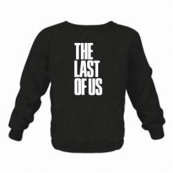 Дитячий реглан (світшот) The Last of Us