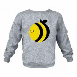 Дитячий реглан (світшот) товста бджілка