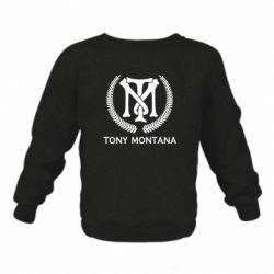 Дитячий реглан (світшот) Tony Montana Logo